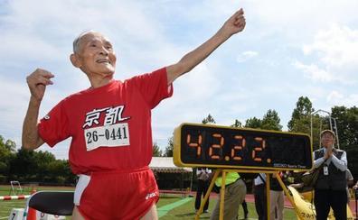 Fallece el velocista centenario 'Golden Bolt' Miyazaki