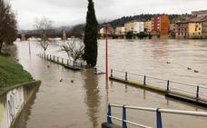 El Gobierno anuncia que las fuertes crecidas de los ríos en el norte de Burgos «están remitiendo»