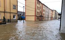 Villarcayo evalúa los daños de la riada y no descarta solicitar la declaración de zona catastrófica