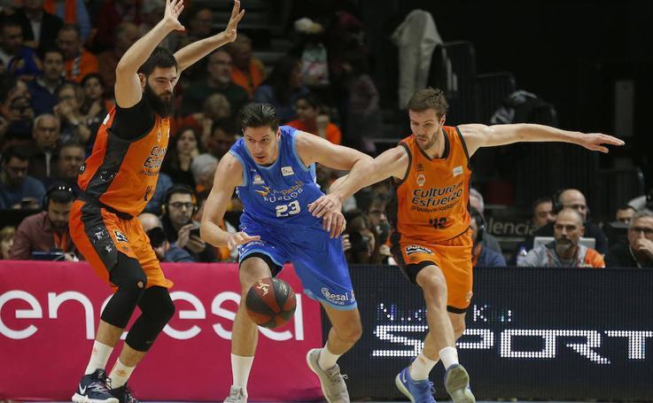 Las mejores imágenes del Valencia Basket - San Pablo Burgos