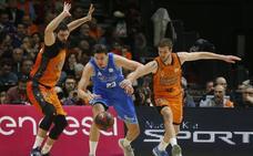 El San Pablo Burgos, a punto de dar la sorpresa ante el Valencia Basket