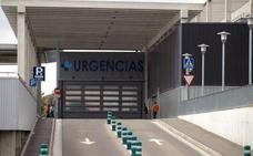 Herida una motorista en una colisión con un vehículo en Burgos