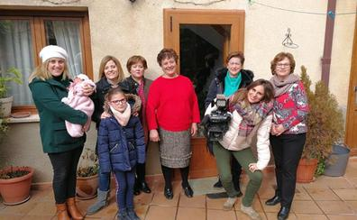 Las mujeres del pueblo burgalés de Moradillo de Roa, las más longevas de España