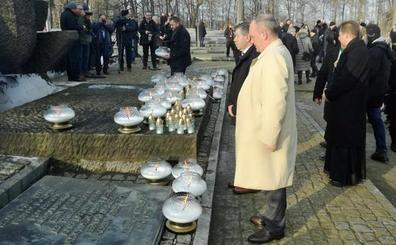 Medina de Pomar, presente en el 74 aniversario de la liberación de Auschwitz