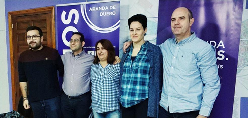 Andrés Gonzalo será el candidato a la alcaldía de Aranda por Podemos