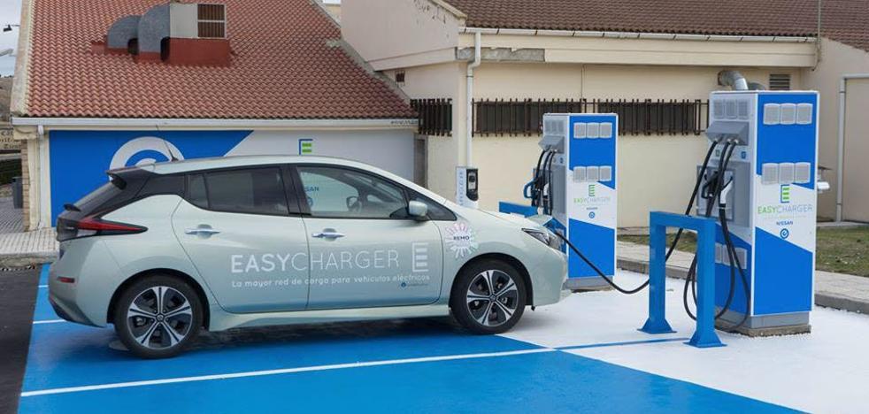 La lenta implantación del vehículo eléctrico en Burgos