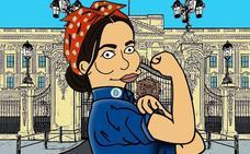 Meghan Markle se convierte en un personaje de 'Los Simpson'