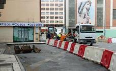 El PCAS denuncia que la falta de un lugar para depositar escombros impide el trabajo de la Brigada de Obras