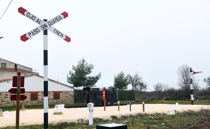 Inauguración de un nuevo tramo de la vía verde del Santander-Mediterráneo