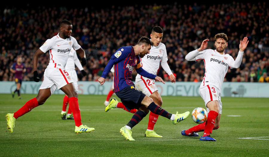 Las mejores imágenes del Barcelona-Sevilla