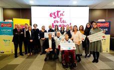 Los empleados de Calidad Pascual apadrinan a cuatro ONG gracias a 'Está en tu mano'