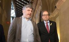 JxCat llama a ERC y CUP a trabajar para restituir a Puigdemont como presidente