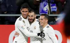 Benzema dispara sus registros