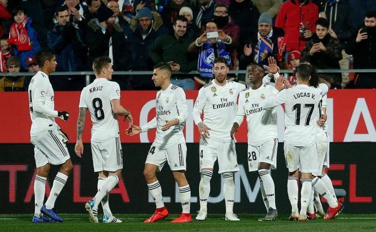 Las mejores imágenes del Girona-Real Madrid