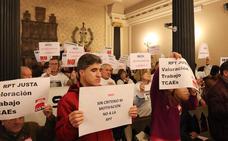El PSOE solicita la retirada del preacuerdo de la Relación de Puestos de Trabajo de la Diputación
