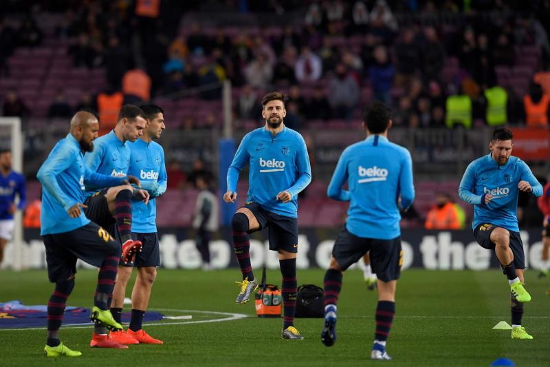 Las mejores imágenes del Barcelona - Valencia