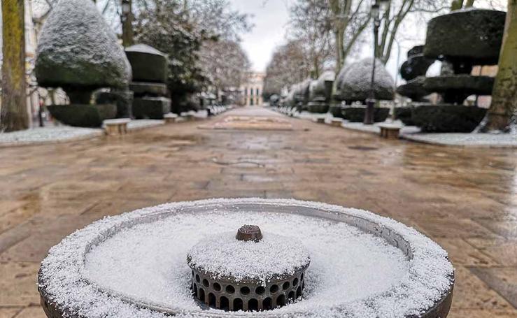 La nieve que no verás si no has madrugado