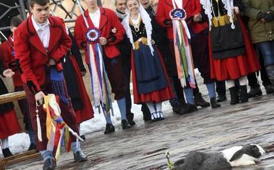 Poza de la Sal celebra su tradicional Danza del Escarrete para la prosperidad del nuevo hogar