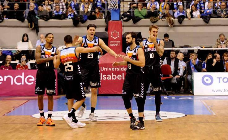 El San Pablo Burgos se esforzó al máximo para superar con contundencia al Guipuzcoa Basquet