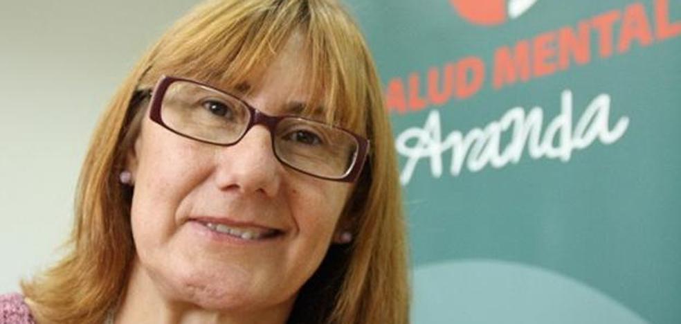 Elena Briongos, una mujer con experiencia propia para liderar la Federación de Salud Mental