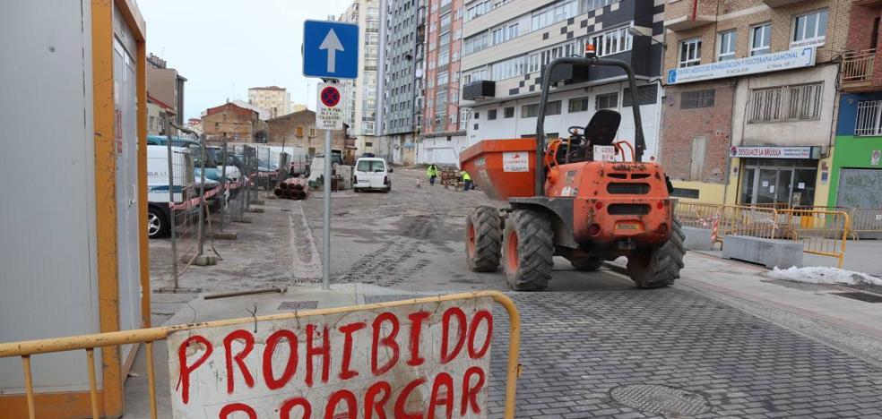 Arrancan las obras de urbanización del aparcamiento de Lavaderos