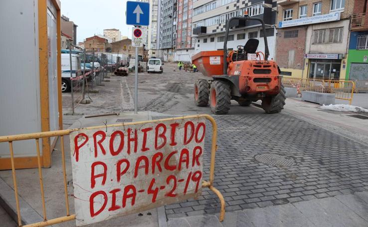 Comienza las obras de urbanización del aparcamiento de Lavaderos