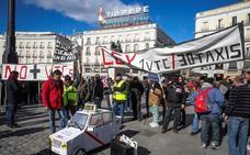 Madrid rechaza la última propuesta de los taxistas