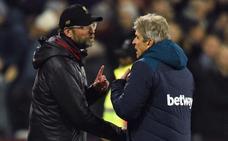 Pellegrini recuerda a Klopp el polémico Dortmund-Malaga: «Está acostumbrado a ganar con goles en fuera de juego»