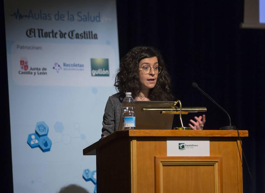 Las doctoras Rocio Cantalapiedra y Tania García, en las Aulas de Salud de El Norte de Castilla