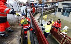 Los afectados por las inundaciones en Miranda y Las Merindades podrán solicitar ayudas