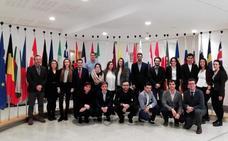 Estudiantes de la Facultad de Derecho de la UBU visitan las instituciones europeas