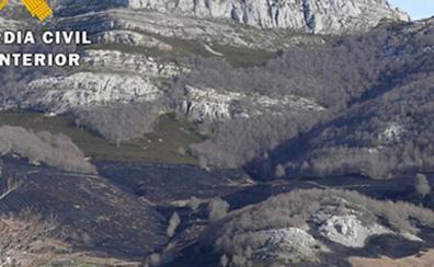 Detenida una persona por el incendio que carbonizó más de 24 hectáreas en Lunada