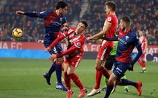 El Huesca respira con su victoria en Girona