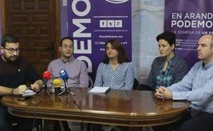 Sí Se Puede Aranda publica su contabilidad como «muestra de transparencia»