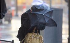 La Aemet prevé vientos de hasta 80 kilómetros por hora este domingo en zonas de montaña de Burgos