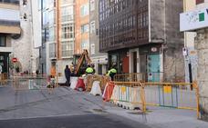 Comienza la segunda fase de las obras de la plaza Hortelanos