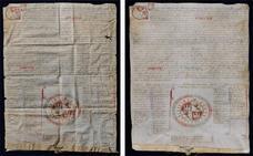 El Ayuntamiento de Briviesca recupera el Fuero de Fernando IV restaurado por la Junta