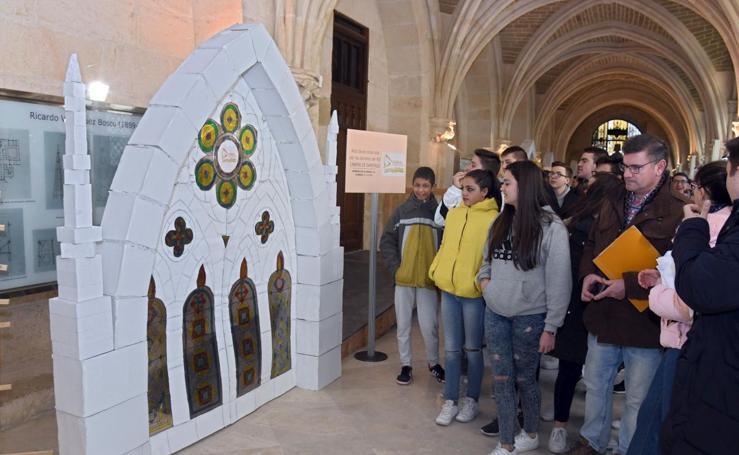 Exposición de arcos ojivales en la Catedral
