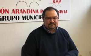 Eusebio Martín será de nuevo candidato del RAP a la Alcaldía de Aranda