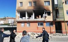 Vídeo de la vivienda del barrio de San Juan Bautista tras la explosión