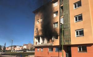 Vídeo de la vivienda del barrio de San Juan Bautista tras la explosión de gas