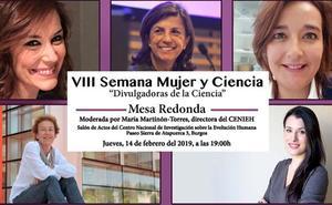 La VIII Semana Mujer y Ciencia reúne en Burgos a destacadas divulgadoras españolas