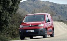Citroën Berlingo Van, al fondo hay mucho sitio