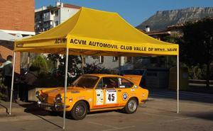 Más de 60 vehículos clásicos participan el sábado en el IV Rallye Regularidad Valle de Mena