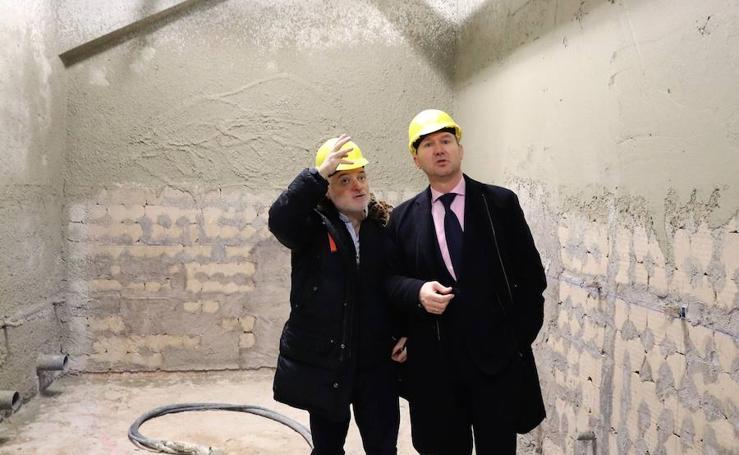 Los nuevos baños del Coliseum podrían estar listos para Semana Santa