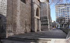 El Ayuntamiento invertirá 200.000 euros en acondicionar las traseras de la iglesia de San Lesmes
