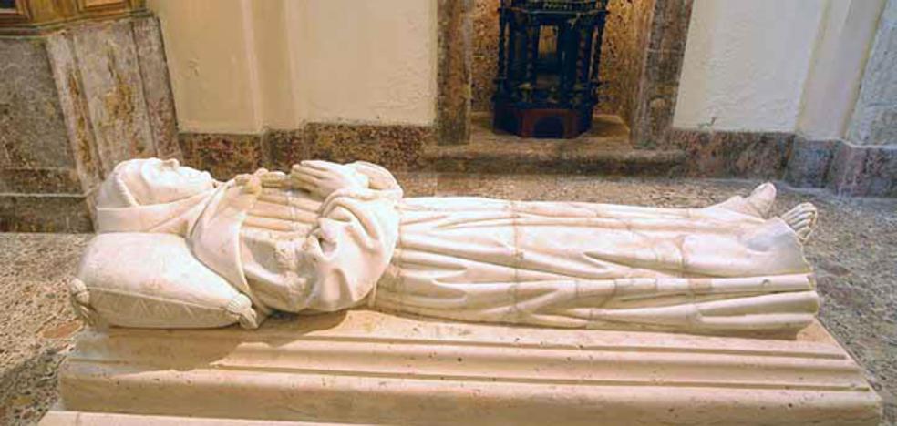 Declaradas BIC las sargas del monasterio de San Pedro Regalado en La Aguilera