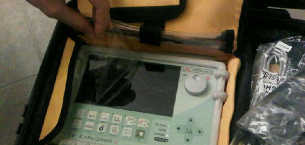 Detenido un hombre acusado de robar un aparato eléctrico, valorado en 5.000 euros, de un taller en el que había trabajado