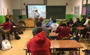 Finaliza el programa 'Empresa Familiar en las aulas' con la visita de IES Juan Martín El Empecinado de Aranda al Grupo Gerardo de la Calle