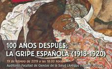 Jornada divulgativa sobre 'la gripe española' el martes, 19 de febrero en la Facultad de Ciencias de la Salud